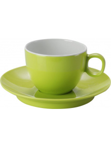 Filiżanki z melaminy do Espresso Set Espresso Spectrum Green - Brunner