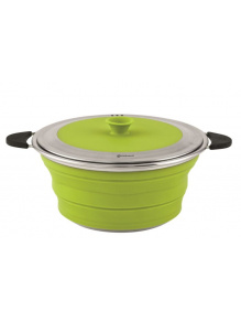 Składany garnek z pokrywką Collaps Pot with Lid 2.5L Lime Green - Outwell